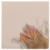 Serviettes en papier Palm Leaf Sable & Or (x16)