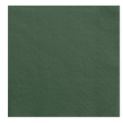 Serviettes en papier Vert Eucalyptus (x20)