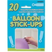 Stickers autocollants pour ballons (x20)