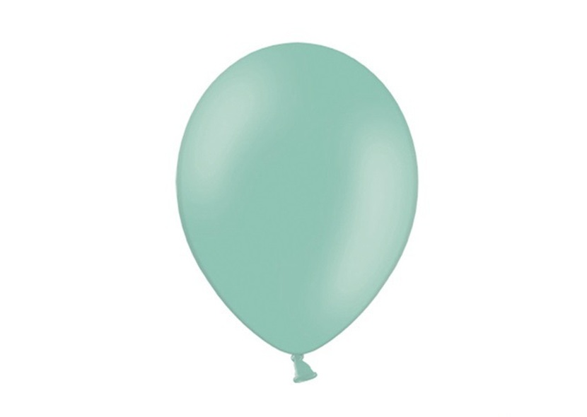 ballon de baudruche mini vert d 39 eau latex holly party. Black Bedroom Furniture Sets. Home Design Ideas