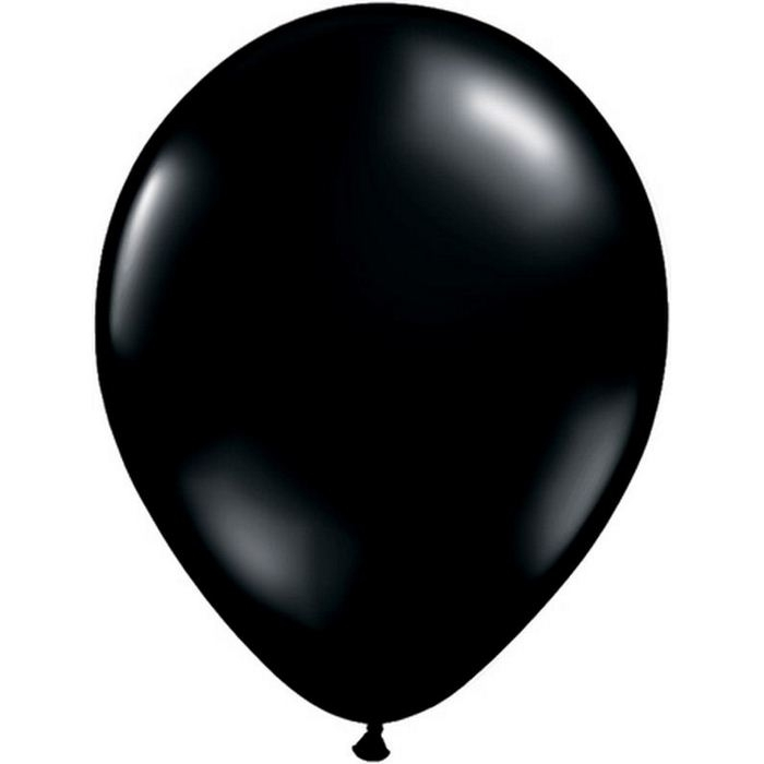 Ballons de baudruche Latex Noir (x10)