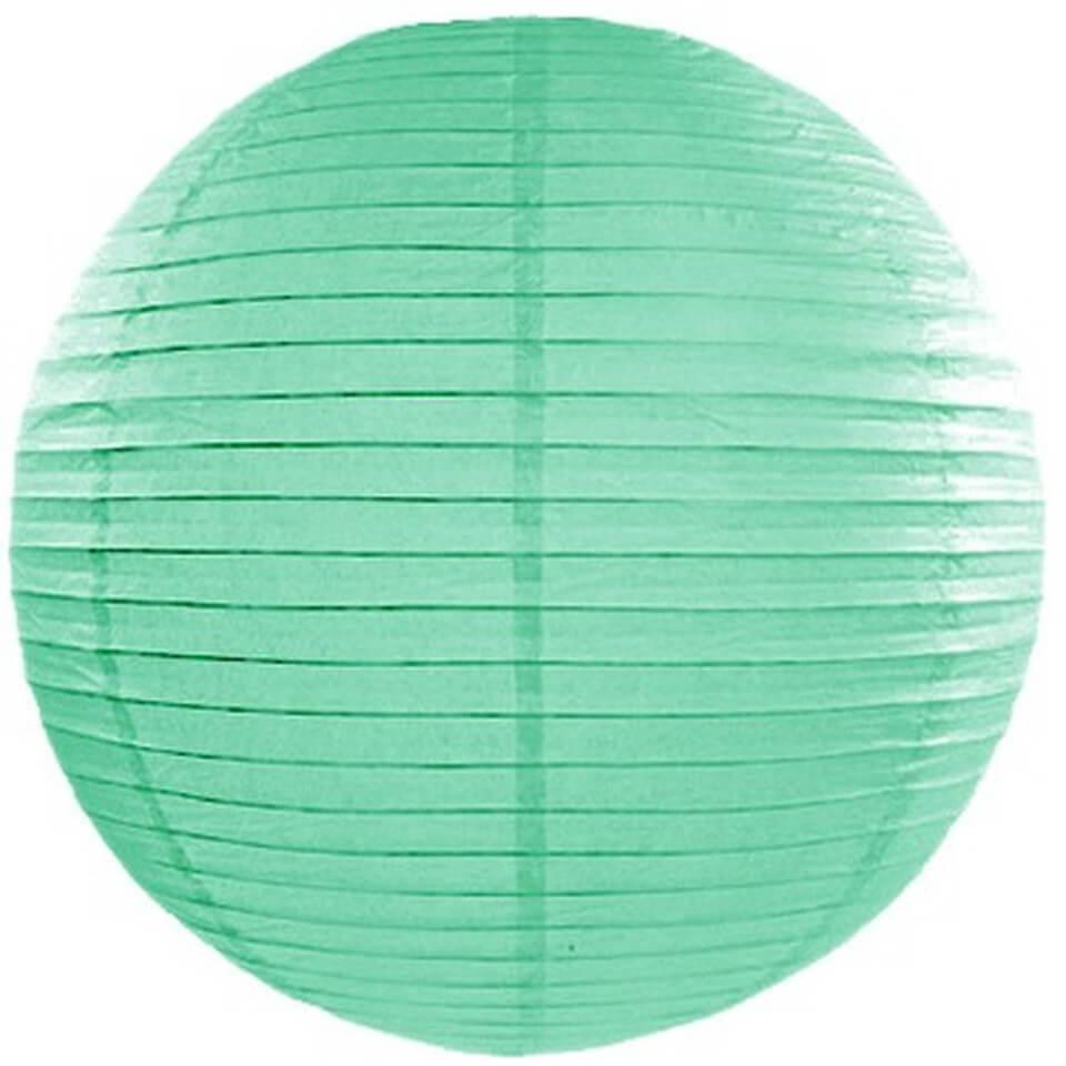 boule japonaise papier suspendre vert d 39 eau holly party. Black Bedroom Furniture Sets. Home Design Ideas